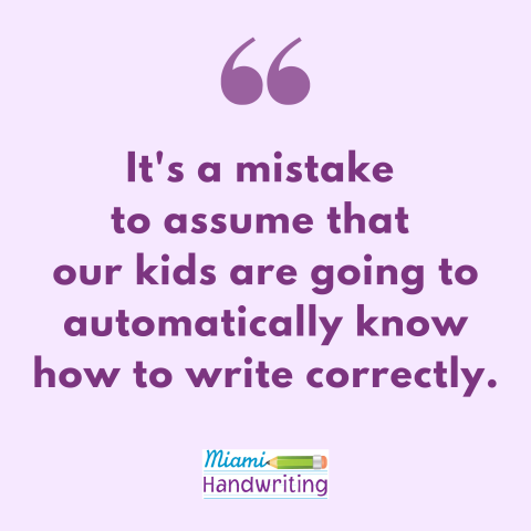 Handwriting instruction practices for first grade. How to teach handwriting in first grade. Handwriting practice for kids in first grade. Handwriting foundations - letter recognition, letter formation and letter size. How to improve kid's messy handwriting.