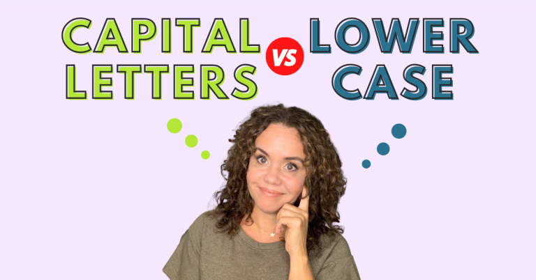 Should we teach capital letters vs lowercase letters first preschool handwriting early writers